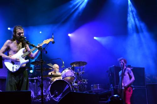 Band Biffy Clyro auf der Bühne