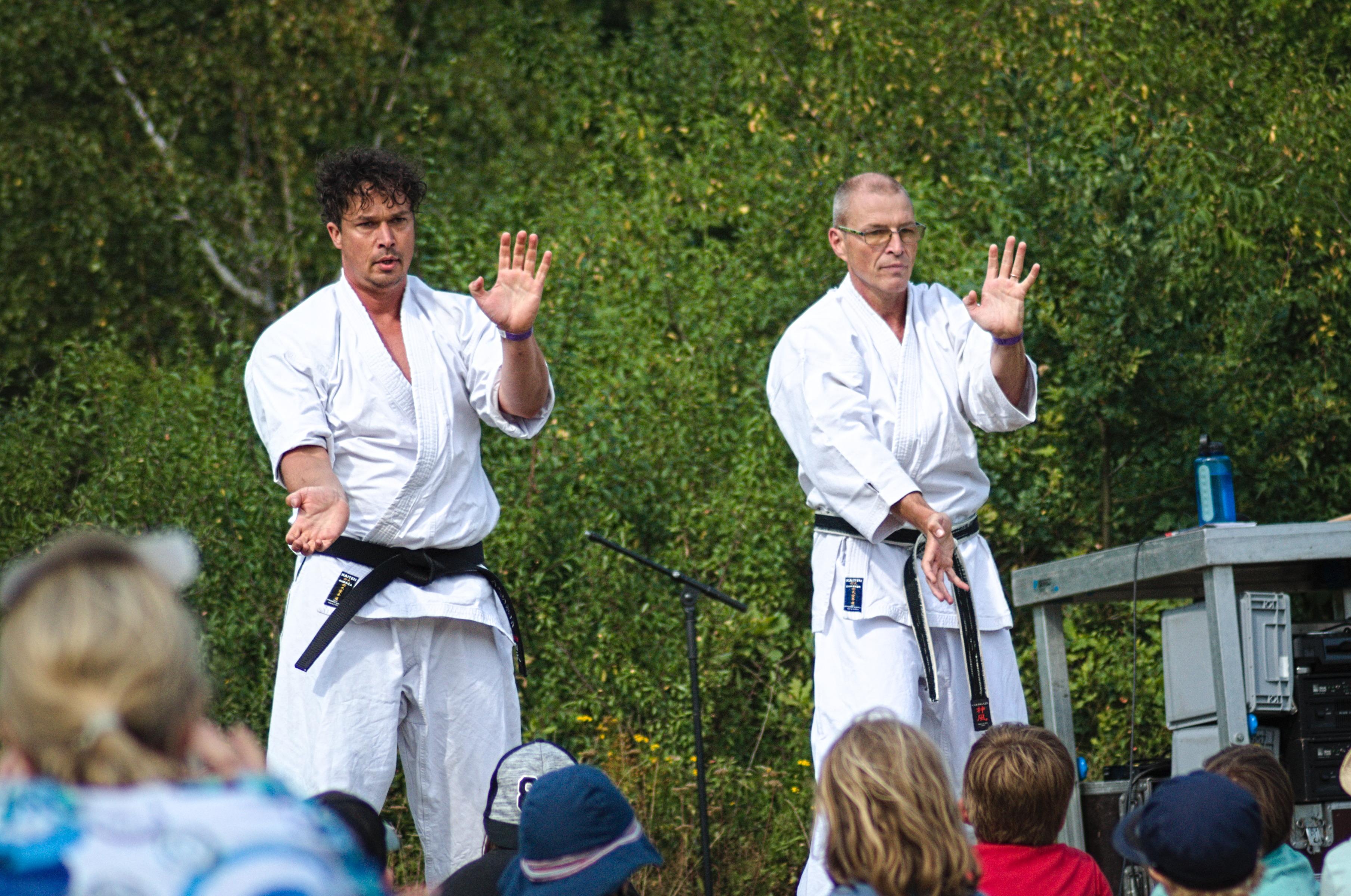 Zuckerkick beim A Summer's Tale Workshop Karate für Kids