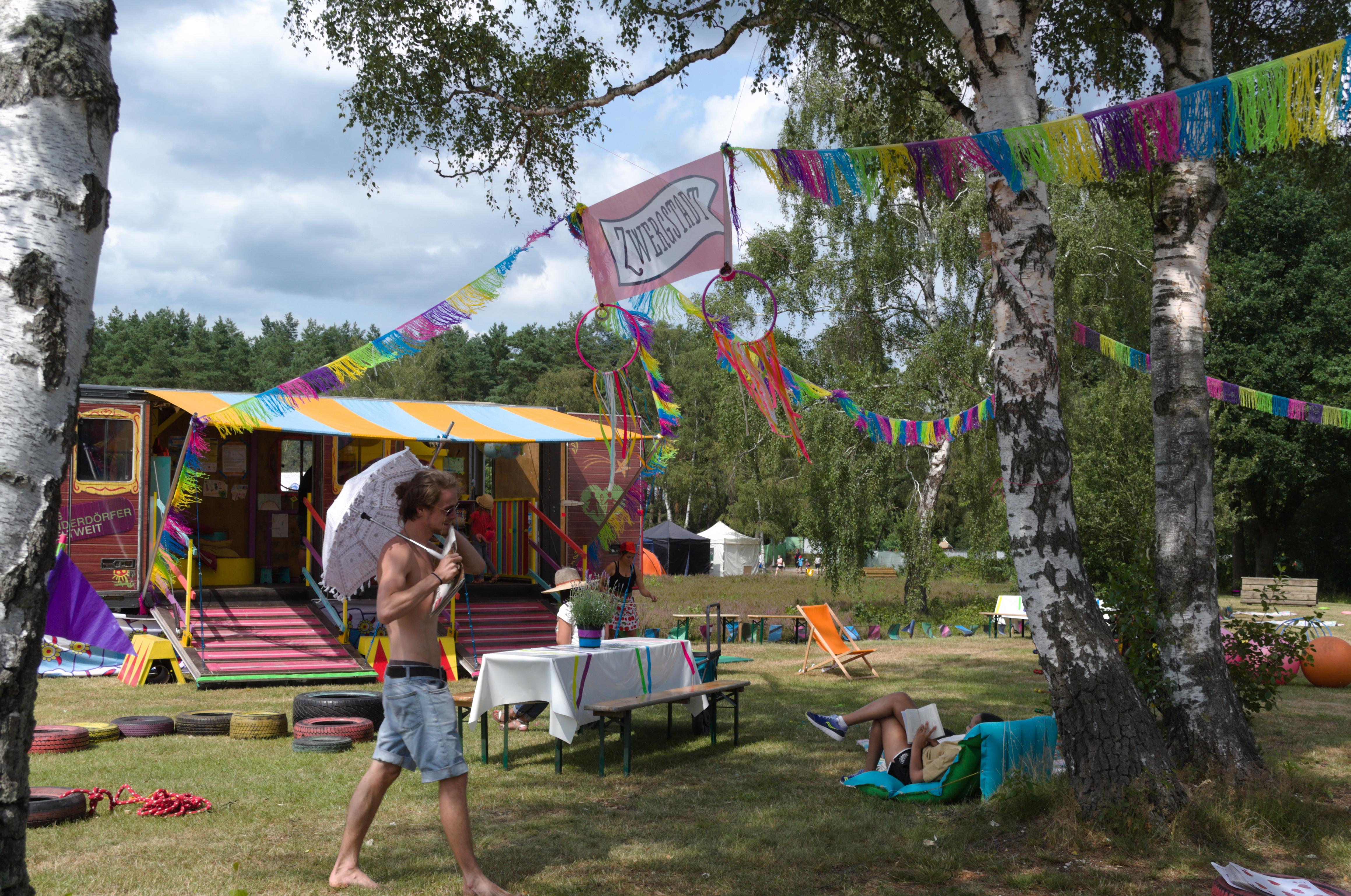 Zuckerkick beim A Summer's Tale Zwergstadt